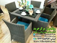 buy-sell home-kitchen table-chairs مبل حصیری حیاطی
