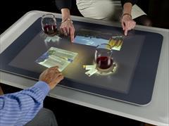 digital-appliances computer computer منوی دیجیتال سفارش غذا با میز لمسی هوشمند رستوران