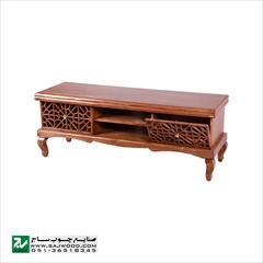 buy-sell home-kitchen table-chairs میز ال سی دی و تلویزیون LCD / LED چوبی سنتی ساج