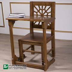 buy-sell home-kitchen table-chairs میز و صندلی نماز و تحریر صنایع چوب ساج مدل ۶۴۷