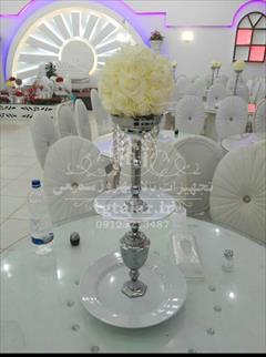 services ceremony ceremony شمعدان و ظرف میوه و شیرینی تالار