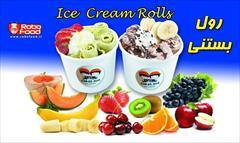 industry food food دستگاه بستنی رولی