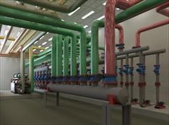 industry water-wastewater water-wastewater طراحی و ارائه نقشه های اجرایی انواع تاسیسات مکانیک
