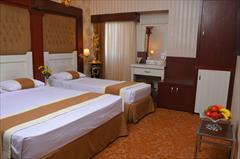 tour-travel hotel hotel اقامت در اتاق یک خوابه (تویین) سرعین با ۴۵% تخفیف!