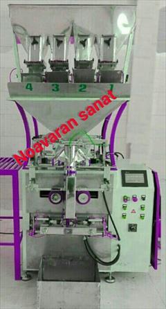 industry machinary machinary دستگاه بسته بندی چهارتوزین