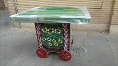 buy-sell antiques collection چرخ طحافی یا گاری میوه