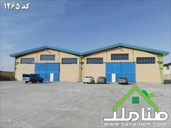 real-estate factory-stock-halls factory-stock-halls فروش کارخانه بافندگی در صفادشت کد1265