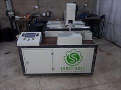 industry machinary machinary دستگاه تزریق فوم فیلتر هوا