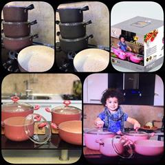 buy-sell home-kitchen cooking-appliances سرویس هفت پارچه گرانیتی ارزان