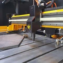 industry industrial-machinery industrial-machinery دستگاه حکاکی و سنبه زن دروازه ای مخصوص سازه فلزی