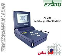 industry medical-equipment medical-equipment PH متر پرتابل مدل PP-201 ساخت کمپانی EZDO تایوان