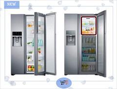 buy-sell home-kitchen home-appliances یخچال ساید بای ساید 34 فوت سامسونگ RH77H90507F