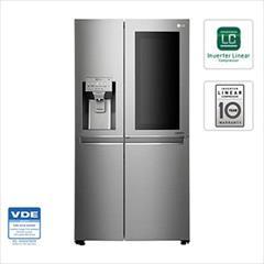 buy-sell home-kitchen kitchen-appliances یخچال ساید اینستا ویو الجی