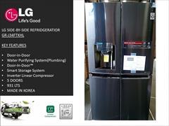 buy-sell home-kitchen kitchen-appliances  یخچال و فریزر ال جی مدل gr-j34ftkhl
