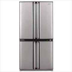 buy-sell home-kitchen home-appliances  یخچال فریزر ساید بای ساید 4 درب شارپ مدل SJ-F82-S