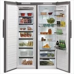 buy-sell home-kitchen home-appliances  یخچال فریزر دو قلو ویرپول مدل SW8AM2CXR