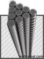 industry iron iron میلگرد از محصولات فولاد مهر سهند