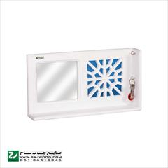 buy-sell home-kitchen decoration جا کلیدی و شلف دیواری صنایع چوب ساج مدل ۶۱۲