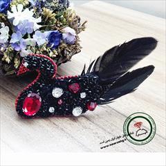 buy-sell handmade jewelry گل سینه قو