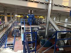 industry industrial-machinery industrial-machinery دستگاه تولید پارچه ماسک اسپان باند و ملت بلون