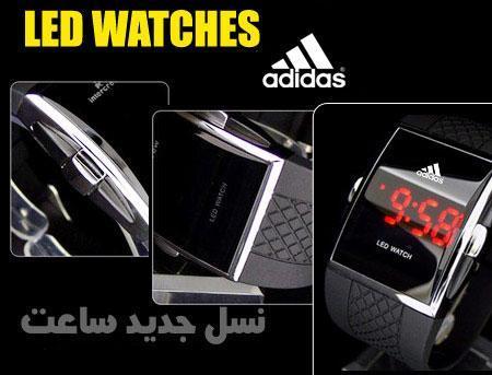 ساعت LED آدیداس+دستبند رایگان<br/><br/>دستان شما در اختیار جذابیت ...<br/><br/>تقدیم به جوانان مشکل پسند<br/><br/>قابل ست کردن با لباس های اسپرت<br/><br/><br/>مکمل زیبایی و جذاب buy-sell personal watches-jewelry