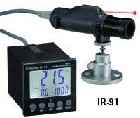 دستگاه کنترل حرارت از نوع غیر تماسی<br/>سنسور حرارت از نوع غیر تماسی (لیزری)به همراه کنترلر دیجیتال<br/>با رله فرمان قطع و وصل و کابل رابط بین کنترلر و سنسور  services industrial-services industrial-services