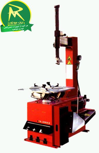 لاستیک درآر unite مدل x2022<br/>نیمه اتوماتیک با بازوهای قابل چرخش<br/>کاربری ساده با وجود قدرت فوق العاده<br/>قابل استفاده برای رینگ های ال قطر 22 اینچ<br/>سه پدال ، industry industrial-machinery industrial-machinery