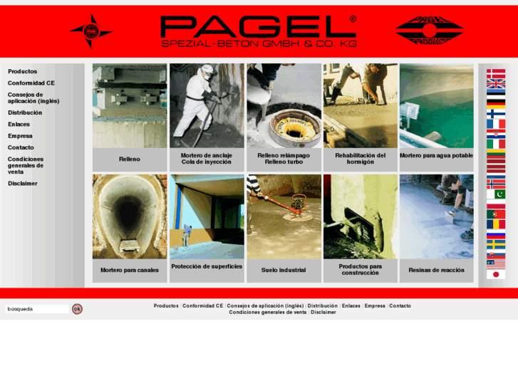 فروش گروت پاگل آلمان -  Pagel Grout<br/><br/>گروت پایه سیمانی محصول شرکت پاگل آلمان         Pagel V1/50<br/>گروت پایه سیمانی محصول شرکت پاگل آلمان         Pagel   industry roads-construction roads-construction