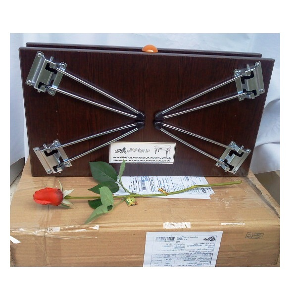 میز چرخ خیاطی تاشو برای انواع چرخ خیاطی خانگی و صنعتی<br/> <br/>نو  و آکبند<br/>پایه فلزی <br/>چوب ام دی اف اعلا<br/> buy-sell handmade other-handmade
