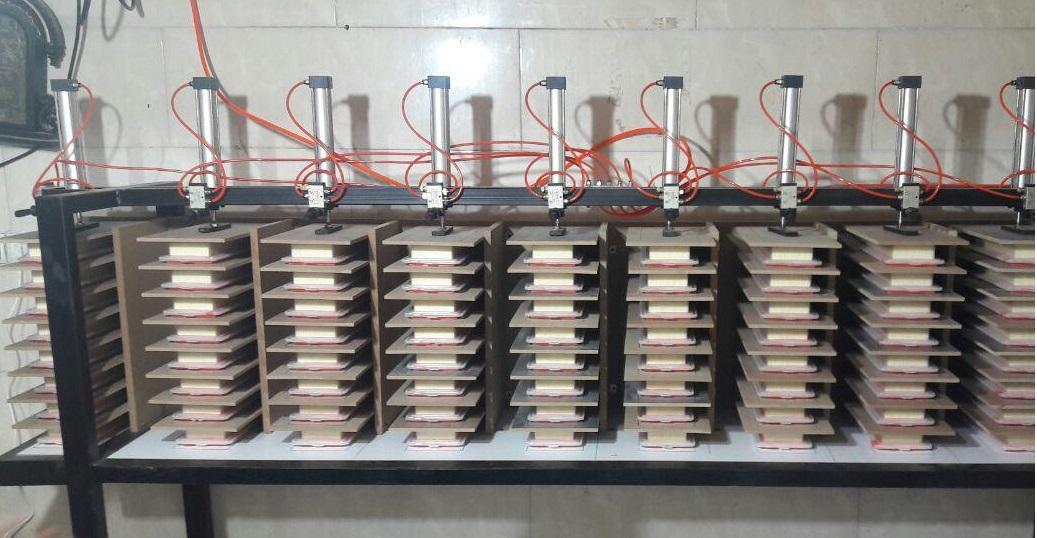 دستگاه پرس 10 ایستگاه اتوماتیک تولیدی ماشین الات صنعتی برای اطلاعات بیشتر با شماره های زیر تماس بگیرید<br/>02634458878<br/>02634441265<br/>02634459669 industry industrial-machinery industrial-machinery