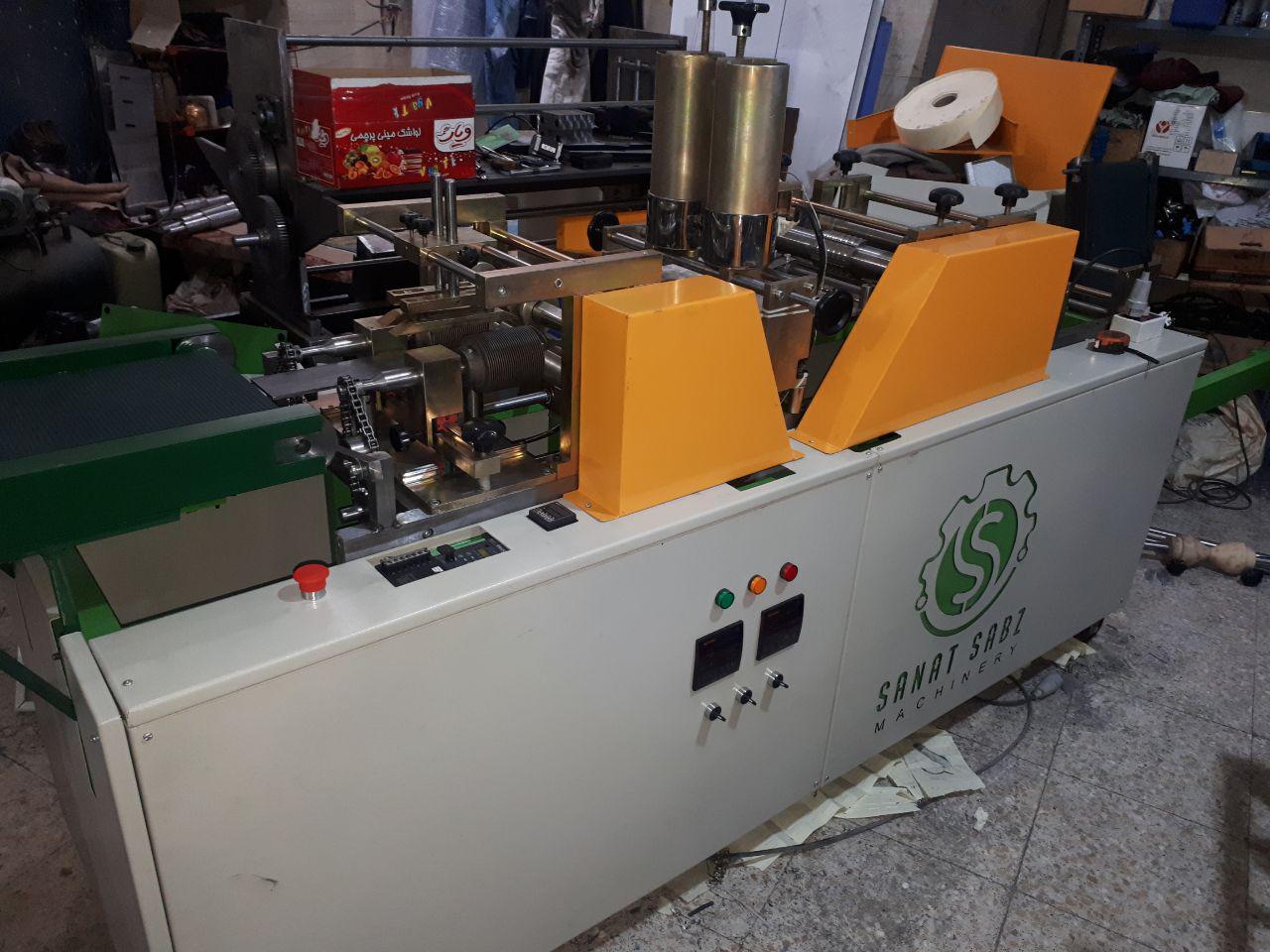ماشین سازی صنعتگران سبز                <br/><br/>ساخت خط تولید اتوماتیک تزریق فوم ودستگاه کاغذ چین کن اتوماتیک مخصوص تولید فیلتر هوای( سبک و سنگی industry industrial-machinery industrial-machinery