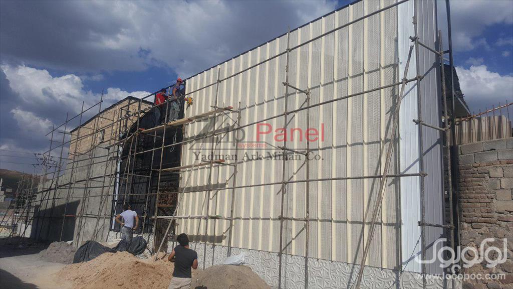 listing detail-نمای آلومینیوم پانچ شده | راه و ساختمان در تبریز