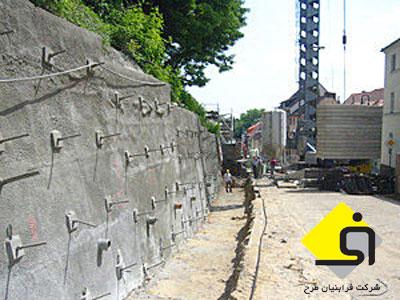<br/>پایدارسازی گودهای شهری بوسیله میخ کوبی(nailing)<br/><br/>- پایدارسازی دیواره های مرتفع خاکی و سنگی جهت گود برداریهای عمیق و مطمئن به روش میخ کوبی soil nailin services construction construction