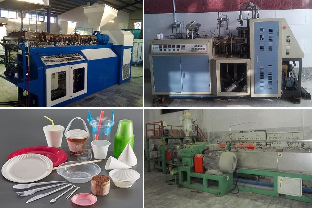 مشاوره و تهیه و توزیع انواع دستگاه های تولید ظروف یکبار مصرف شامل:<br/>ظروف یکبار مصرف فومی<br/>ظروف یکبار مصرف پلاستیکی P.P و P.S (فرمینگ و نیمه فرمینگ)<br/>ظروف services industrial-services industrial-services