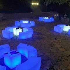 services ceremony ceremony اجاره میز ،صندلی،نیمکت،میز های بار و ... ( led )