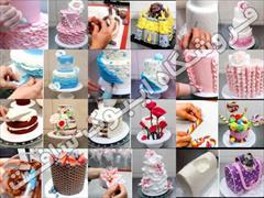 services educational educational  مجموعه فیلم های طراحی و دکوراسیون کیک و شیرینی