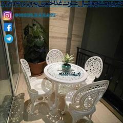 buy-sell home-kitchen table-chairs سرویس نهارخوری میز و صندلی پلیمری ارزان مدل طاووسی
