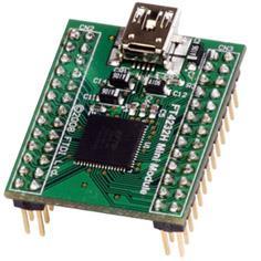 digital-appliances pc-laptop-accessories connector مینی ماژول مبدل USB به 4 پورت سریال - FT4232H Mini