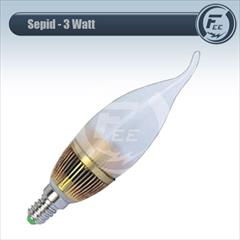 industry electronics-digital-devices electronics-digital-devices لامپ ال ای دی 3 وات شمعی