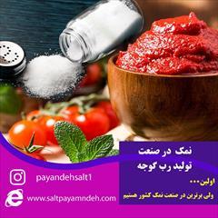industry food food پیشنهادی و پرتخفیف برای نماینده های پخش نمک خوراکی