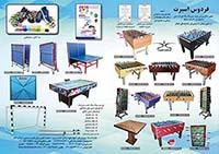 buy-sell entertainment-sports sports میز پینگ پنگ فردوس اسپرت