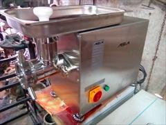 industry food food چرخ گوشت صنعتی ۳۲ متحرک گیربکسی رومیزی