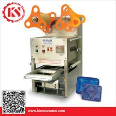 industry industrial-machinery industrial-machinery دستگاه سیل کن اتوماتیک ظروف پلاستیکی