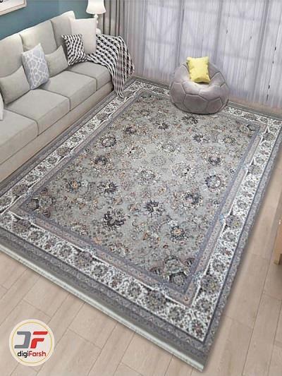 فرش زمینه طوسی<br/>تنوع رنگ بندی فرش ماشینی در سال های اخیر بسیار زیاد شده است ولی یکی از پر فروش ترین محصولات، فرش زمینه طوسی است. این فرش با نقشه ها و ج buy-sell home-kitchen carpets-rugs