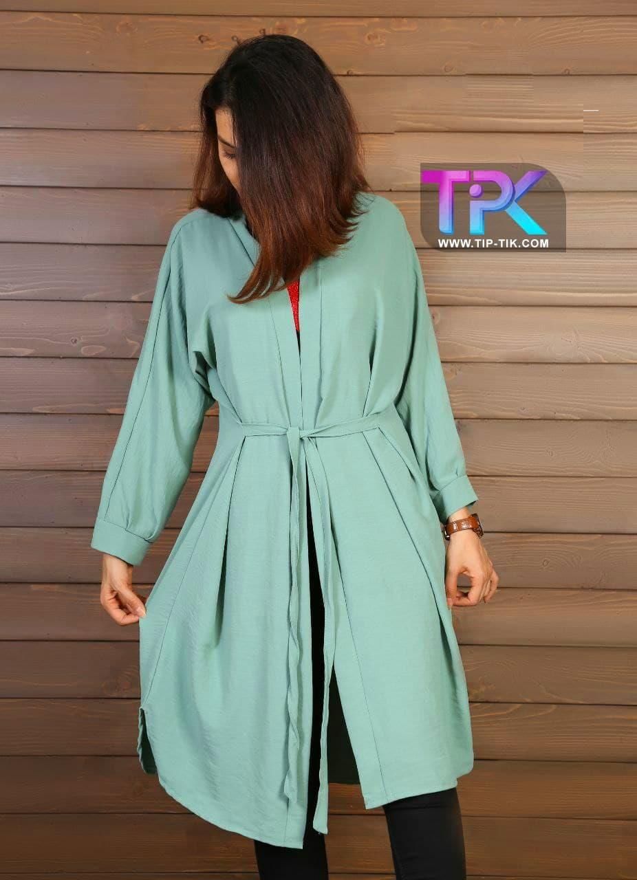 مانتو ابروبادی جلو باز<br/>📐سایز:Free(مناسب سایز 38تا44) <br/>🌈رنگ بندی:مختلف<br/>✂️جنس: ابروبادی<br/><br/>💰قیمت:130000<br/>قیمت یک جین12تایی:1560000 buy-sell personal clothing